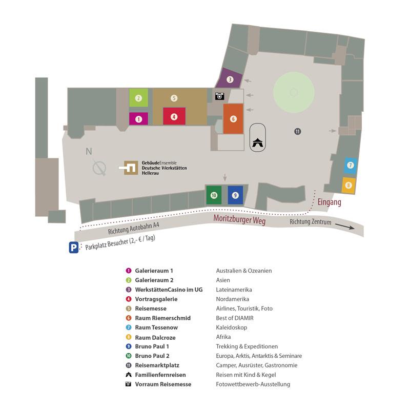 Globetrottertage 2017 Lageplan